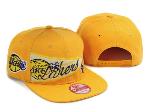Los Angeles Lakers Snapback Hat LX36